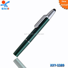 Fashion led torch light pen with touch top