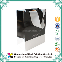 2015 high quality wholesale handle paper purse gift bags
