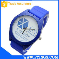 sports watch cheap silicone wrist vogue watch charm watch jam tangan