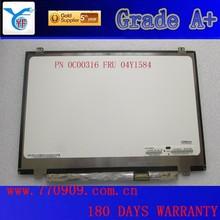 China lower price original laptop lcd monitor N140FGE-EA2 Rev.B2 laptop screen panel FRU 04Y1584