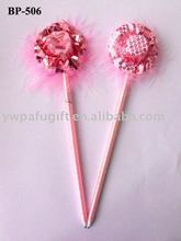 beautiful hat promotional gift ball pen