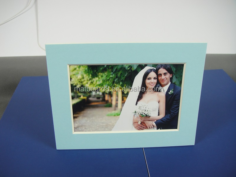8x10 White Cardboard Picture Frame With Stand - Buy Photo Frame ...