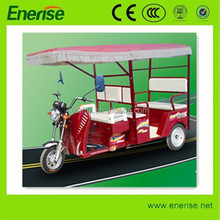48V,650W Electric Tricycle,Adult Style,3 Wheel Electric Bike,Three row of Seats Electric Bicycle for Passenger