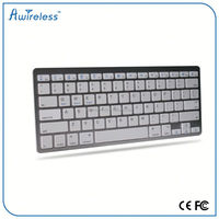 bluetooth 3.0 Wireless Bluetooth Keyboard Flip Stand for iPad Air/Air 2, White