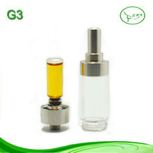 stainless steel and glass replacement wax skillet atomizer G3 atomizer wholesale
