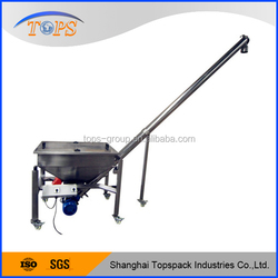 Ideal screw feeder with vibrating hopper