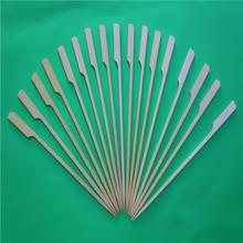 Best Sale Heat Resistance Flat Bamboo Skewers