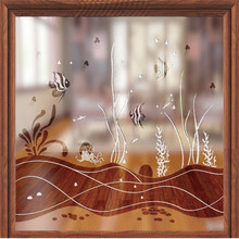 High Quality Clear Float Glass With Ocean Pattern