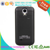 Cheap Price for Galaxy S4 Mini Battery Case filp leather case 2200mah with ce rohs