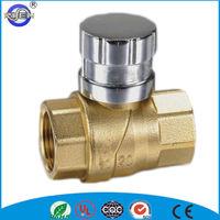 cw614n brass water meter ball valve lock
