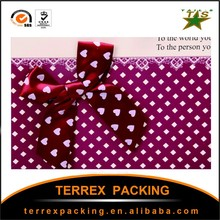 Hand Length Handle Sealing & Handle and Paper Material gift bags christmas