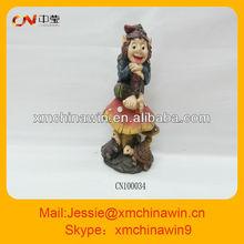 Popular polyresin craft for garden decoration