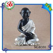 SGB331 Polyresin Craft Chinese Laughing Buddha Carving Statue