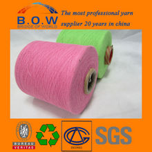 recycle regenerated65/35 5S open end/oe recycle cotton yarn for glovesfor fabric