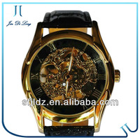 Luxury Hollow Mechanical Watches Men's Copper Watches For Men