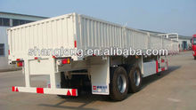 Semi trailer for container and cargo 2 axles 40 feet 40 tons