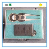 100*75*25MM clear electronic injection mold plastic packing box