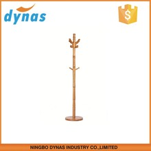 simply designed high quality bamboo coat and hat stand/coat and hat hanger