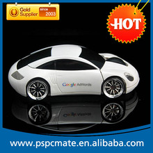 PS-M0096 2.4G 1200DPI 3D Car Shape Wireless Optical Mouse Mice