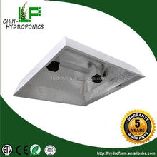 Hot sale chin-up hydroponics equipment China supplier wholesale 1000w double ended grow lighting fixture reflector lamp shade