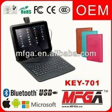 for ipad 2 leather case with keyboard