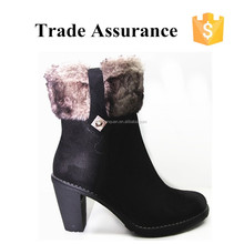 2015 New arrival customized high quality low price high heels snow boots women