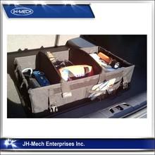 Foldable Auto Trunk Storage /Car Boot Organizer Bag/Non-woven 3 compartments car trunk organizer
