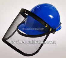 2015 HDPE industrial safety helmet at economic price construction safety helmet with face shield pe industrial safety helmet