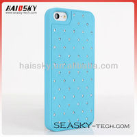 Crystal bling bling hard PC cover diamond case for iphone5