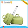 Chinese wholesale cheap polyester aluminium trolley travel bags with wheels