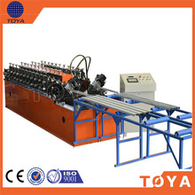 Automtic System Studs & Tracks Making Machinery Auto Strip Ceiling C Shape Roll Forming Equipment