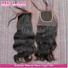 virgin hair bundles lace closure, free parting lace closure, ,3 part silk base lace closure bleached knots
