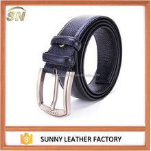 Guangzhou supplier 100% Cow Genuine Leather Belts For Men
