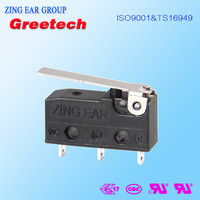 Subminiature momentary motorcycle on off pcb mount Auto types of electrical snap action limit smd micro switch