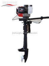 2 stroke 3.5hp marine motorr with air cooled for fishing T3.5air