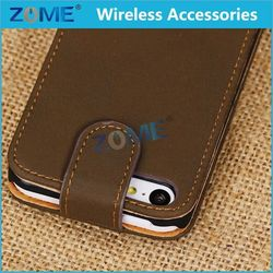 Whole Printing Sublimation Leather Case For Iphone 5C Phone Case For Mobile Phone