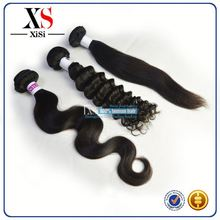 Wholesale Top 5a no hair follicles remy peruvian virgin hair