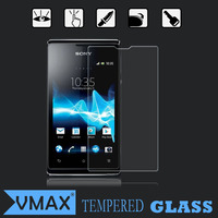 Low price mobile phone 0.2mm tempered glass screen protector for sony xperia e dual screen guard