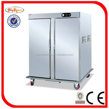 mobile stainless steel electric food warmer cabinet DH-22