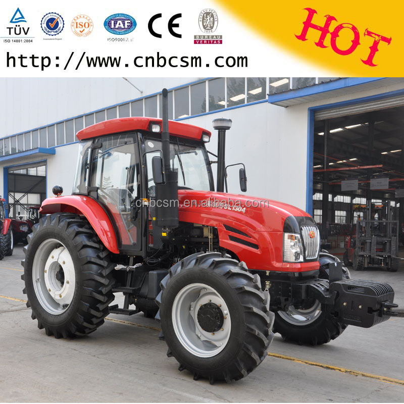 Large 4 Wheel Drive Tractors : Practical and economical high reliability farm tractors