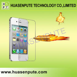2015 For iPhone 4 Full Cover Tempered Glass Screen Protector, Full Cover Tempered Glass Screen Protector For iPhone 4
