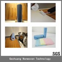 100%PET home appliance static floor cleaning wiping rags