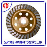 Jiangsu Turbo Cup Diamond Cutting wood Diamond Grinding Wheel