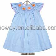 baby toddler girls turquoise gingham smocked dress little girls dresses