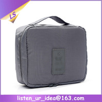 2015 foldable promotional women travel toiletry washing bag