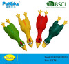 2015 Latex chicken pet toys with squeaker