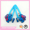 2015 new arrival hair clips with cute dog for lovely girls