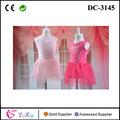 popular diseño de encaje de tul vestido de las niñas