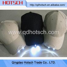Wholesale from china led light baseball hat