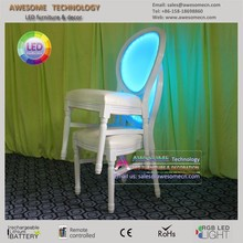 rechargable led chairs for bar/cafe/garden/home decoration